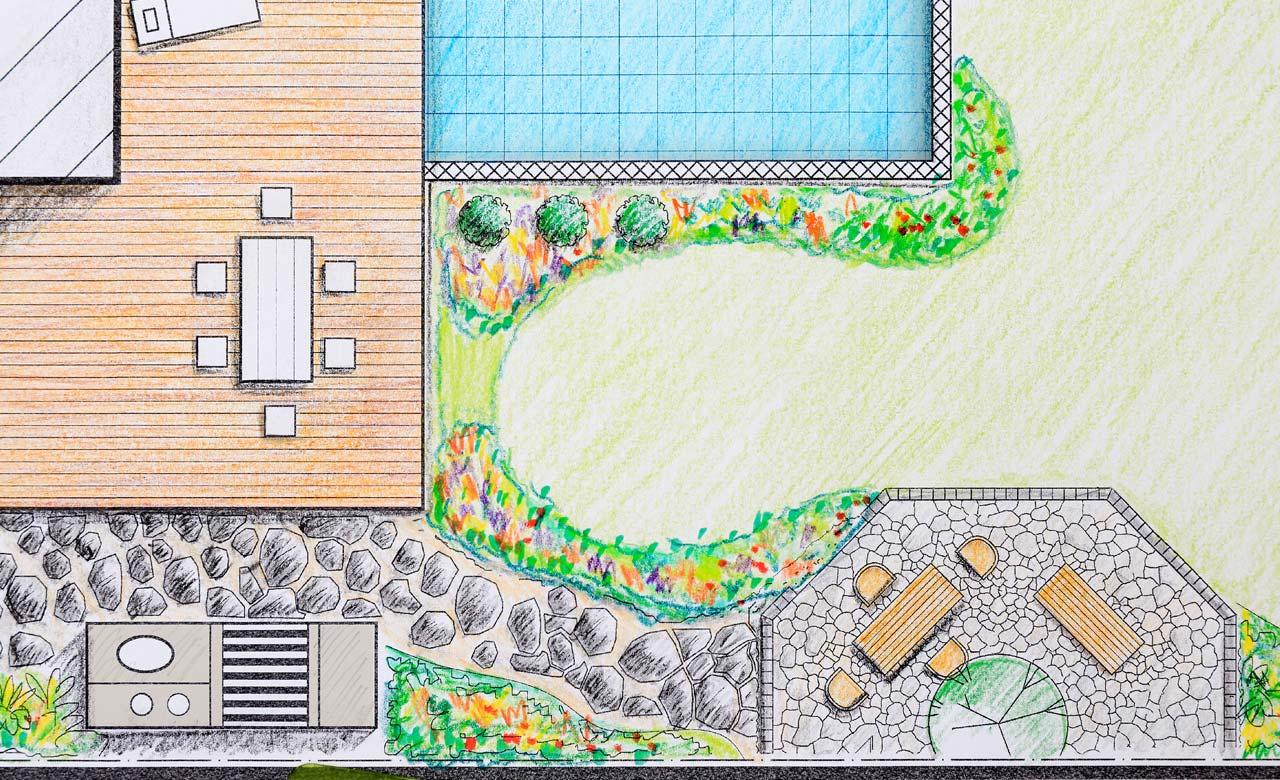 Gartenplanung Pfungstadt Hessen