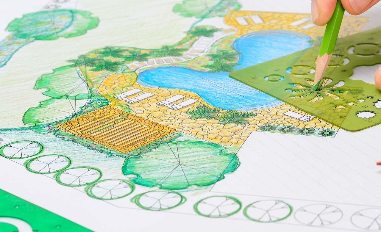 Gartenplanung Jüchen Nordrhein-Westfalen