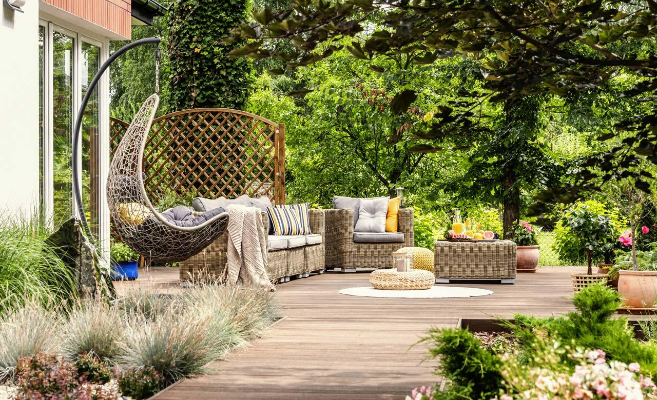 Gartengestaltung Hof Bayern