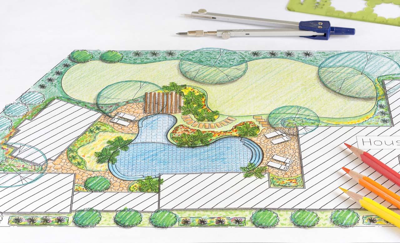 Gartenplanung Friesoythe Niedersachsen