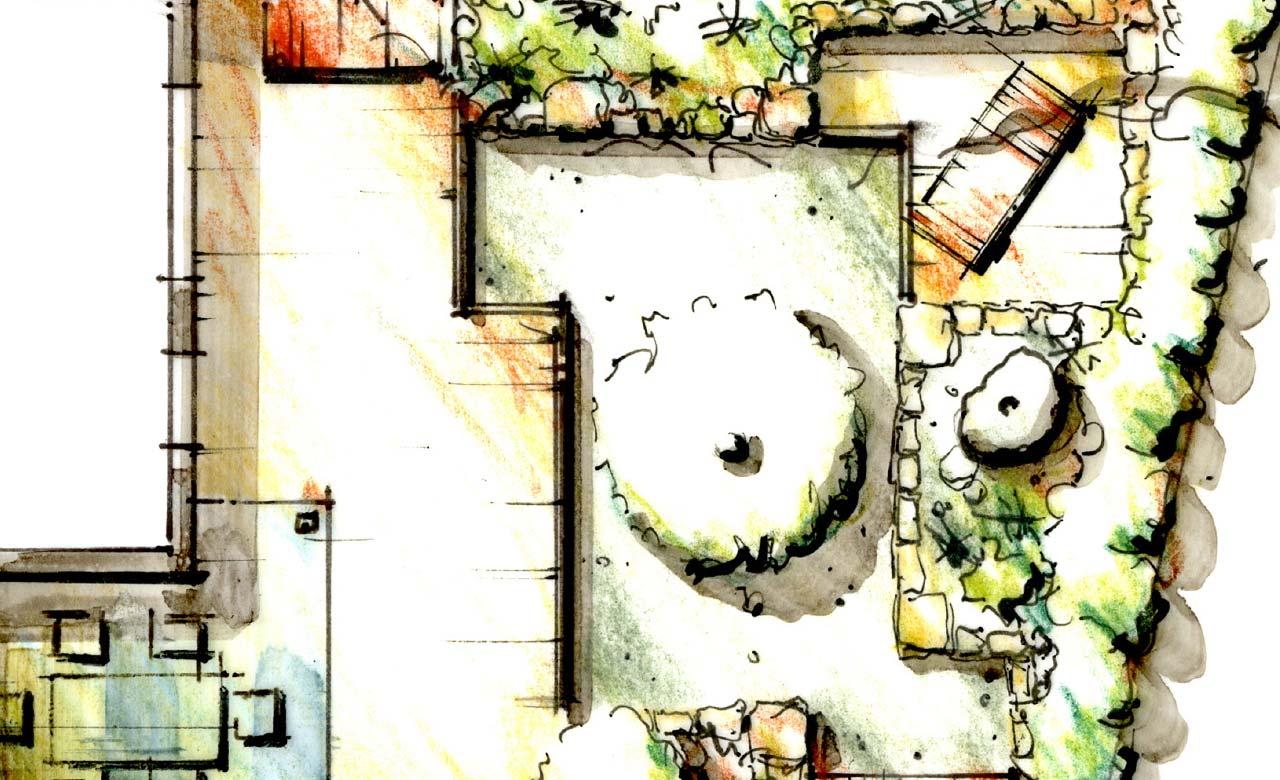 Gartenplanung Bad Vilbel Hessen