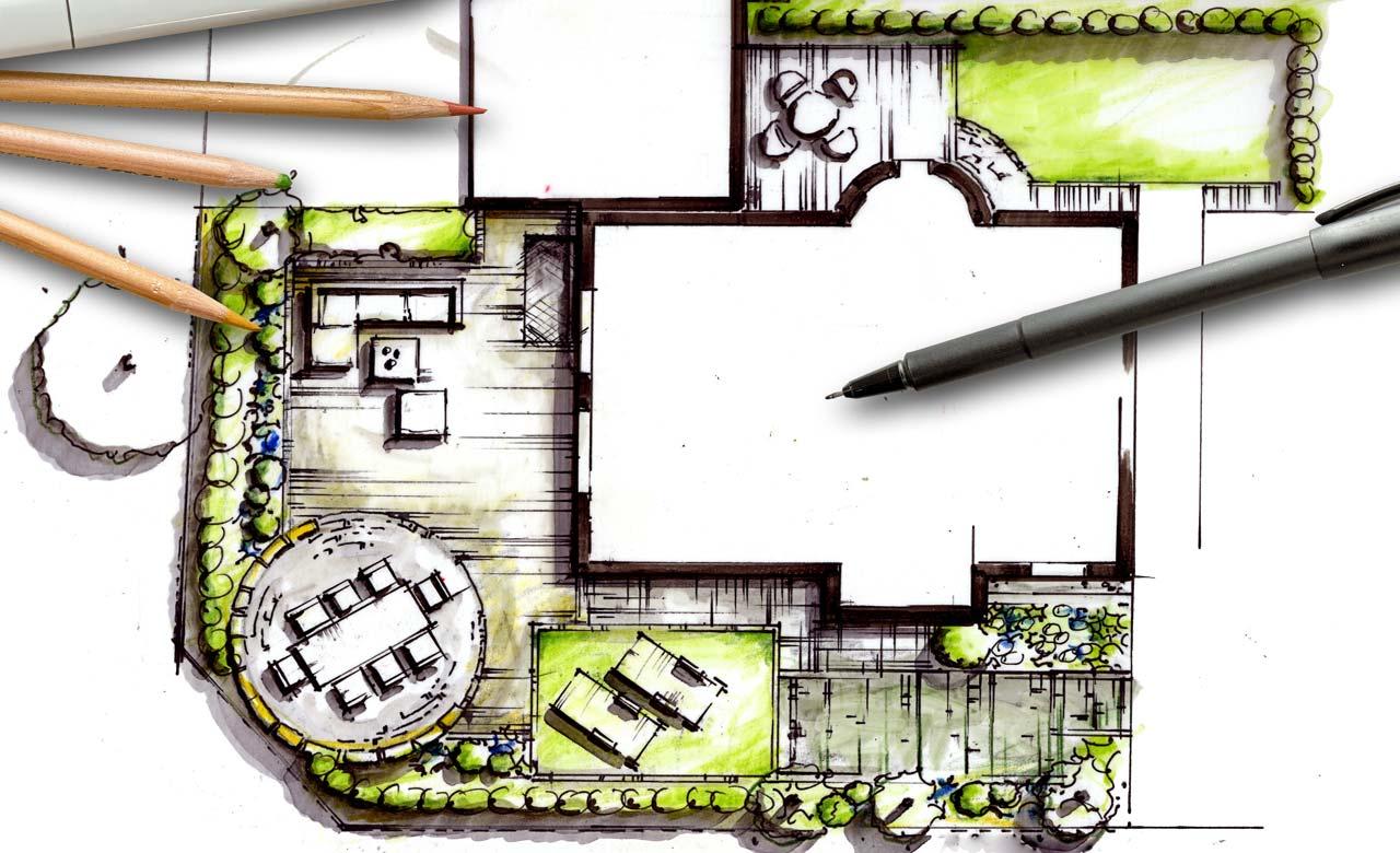 Gartenplanung Baunatal Hessen
