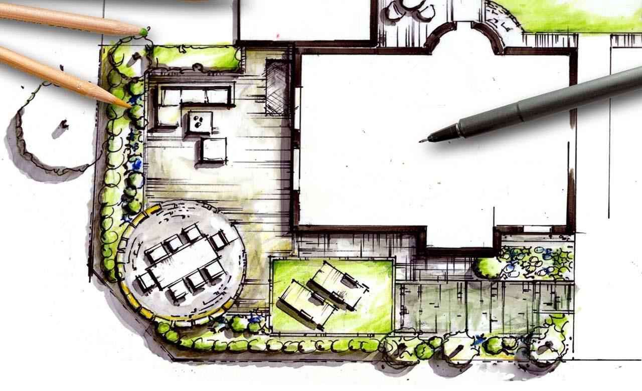 Gartenplanung Bensheim Hessen