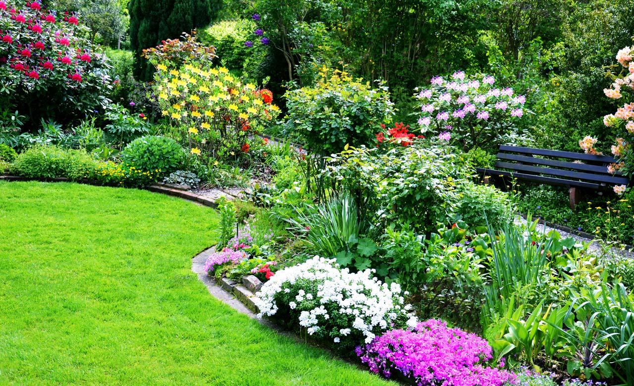 Gartengestaltung Nördlingen Bayern