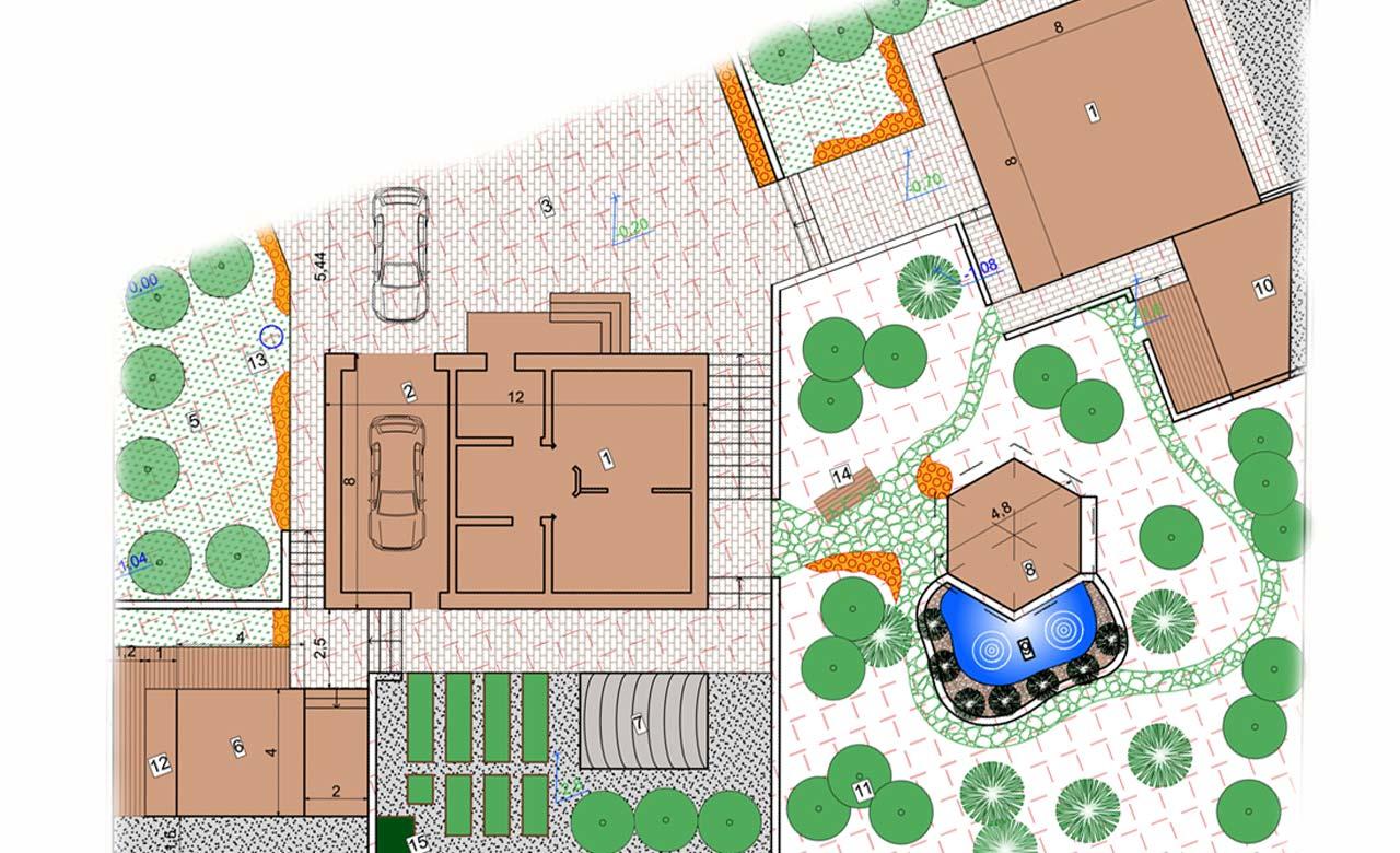 Gartenplanung Radebeul Sachsen