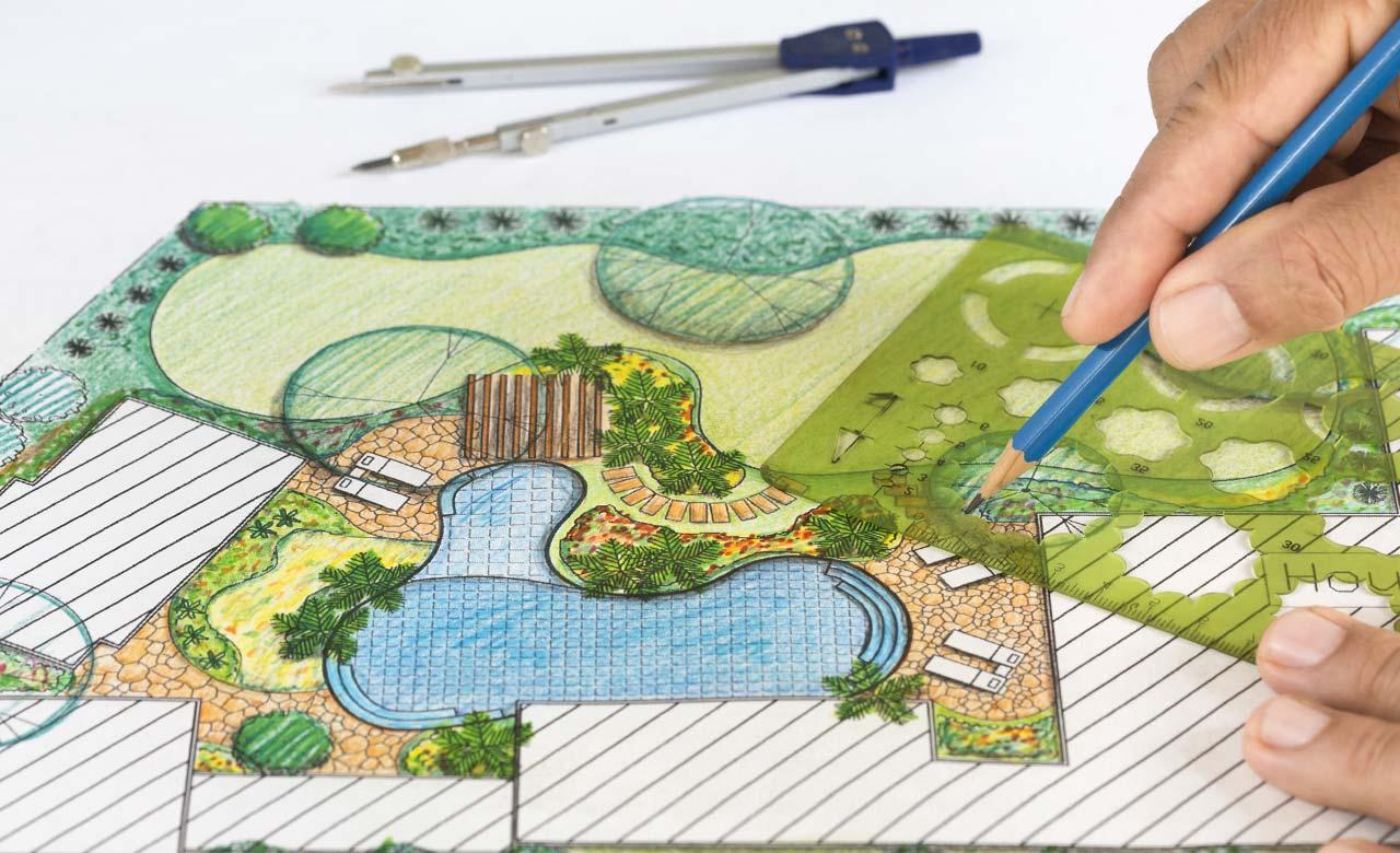 Gartenplanung Viernheim Hessen