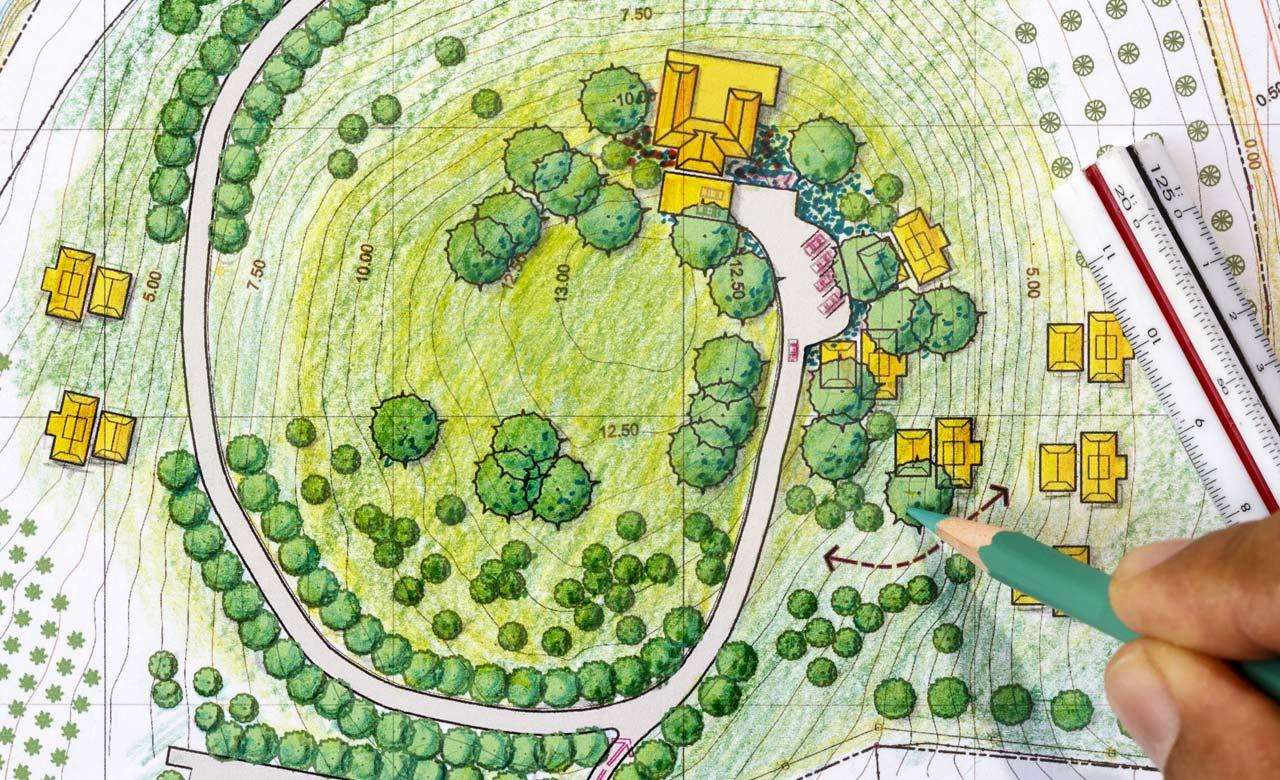 Gartenplanung Weinheim Baden-Württemberg